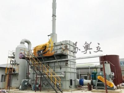 低浓度废气蓄热氧化焚烧炉(RTO)